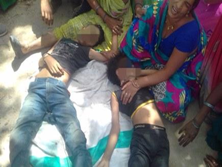 सीधी: तालाब में डूबने से चार बच्चों की मौत