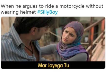 'गली बॉय' के ट्रेलर पर चुटकी ली मुंबई पुलिस ने, बनाया मजेदार मीम