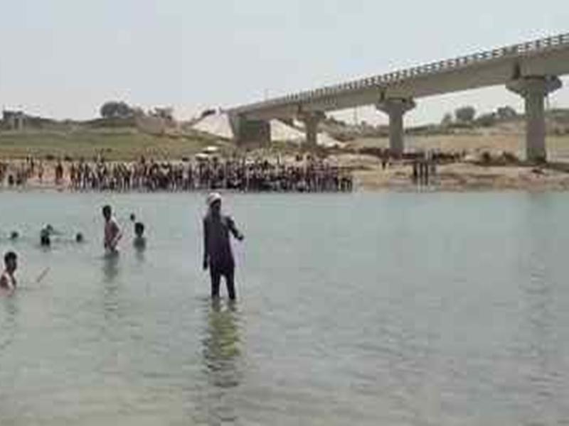 भिंड में प्रतिमा विसर्जन के दौरान सिंध नदी में बहे दो भाई, एक को बचाया