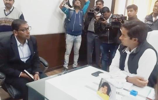 मंत्री जयवर्धन सिंह बोले- इंदौर BRTS को बनाएंगे और बेहतर