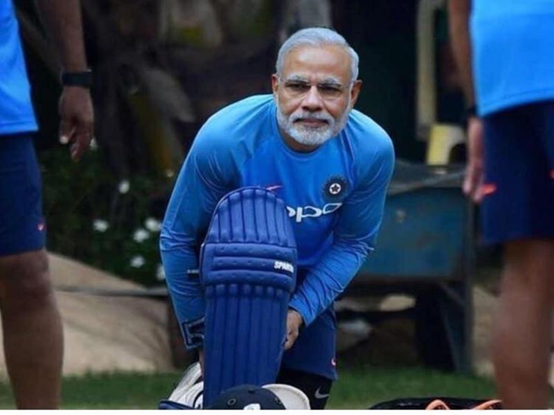 World Cup IND vs NZ: टीम इंडिया हार रही थी तो सोशल मीडिया पर लोगों को याद आए मोदीजी