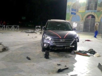 Haryana: तेज रफ्तार कार रेलवे स्टेशन परिसर में घुसी, 7 लोगों को कुचला