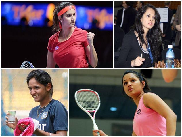 स्पोर्ट्स वर्ल्ड में भारत की ग्लैमर गर्ल्स