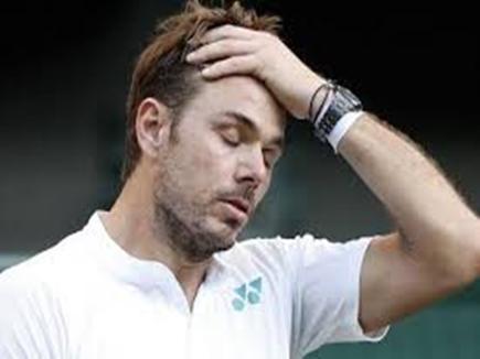 वावरिंका रोटरडैम ओपन के पहले ही दौर में हारकर टूर्नामेंट से बाहर