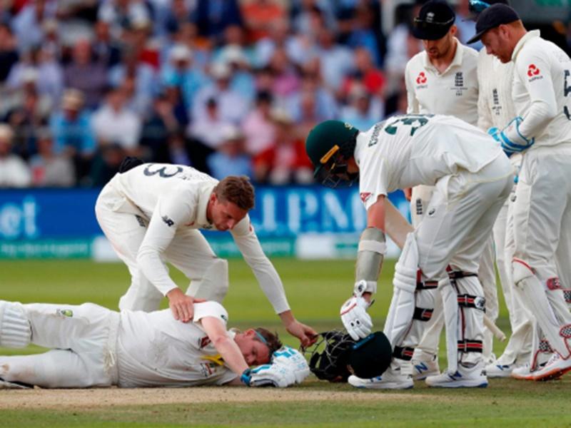 Ashes Series: स्मिथ को चोट लगने के बाद हंस रहे आर्चर जमकर हुए ट्रोल, देखें Video