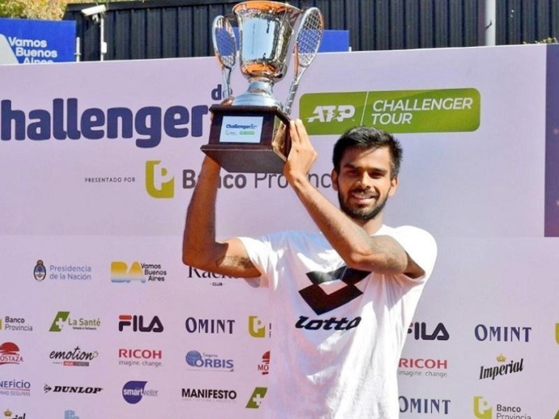 Sumit Nagal wins Tennis title: सुमित नागल ने अर्जेंटीना एटीपी चैलेंजर जीता, रचा इतिहास