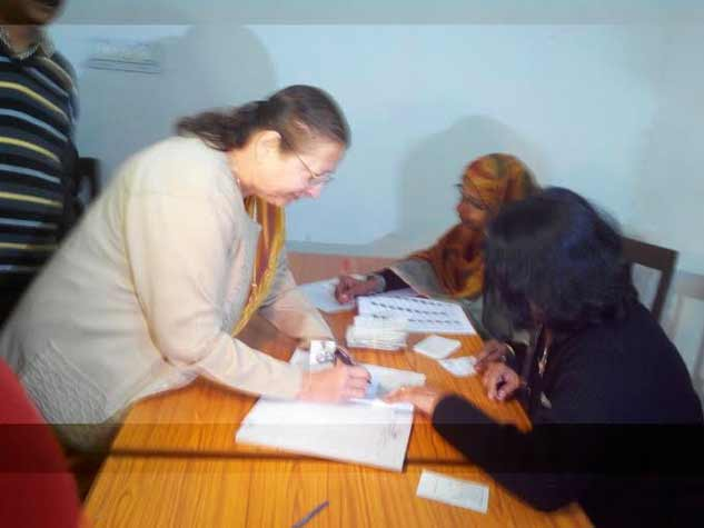 मध्यप्रदेश निकाय चुनाव की तस्वीरें
