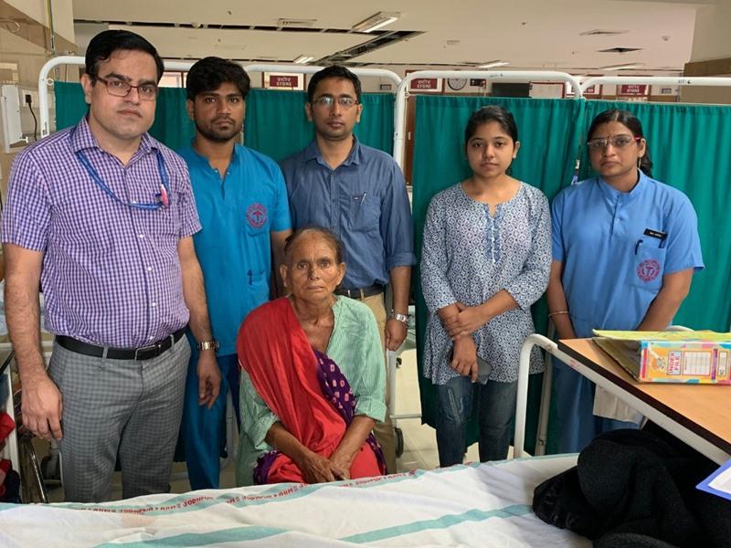 AIIMS में राजस्थान की पहली रोबेटिक सर्जरी, गर्दन के कैंसर का सफल ऑपरेशन