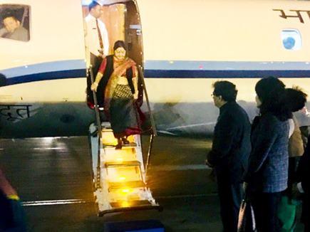 सुषमा स्वराज पहुंचीं बीजिंग, SCO में पाक से नहीं होगी बात