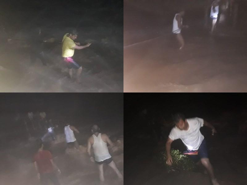 VIDEO : तीरथगढ़ जल प्रपात में फंसे 7 पर्यटकों की पुलिस ने रेस्क्यू कर बचाई जान