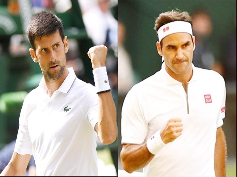 US Open tennis: सेमीफाइनल में भिड़ सकते हैं फेडरर और जोकोविच, ड्रॉ निकाले गए