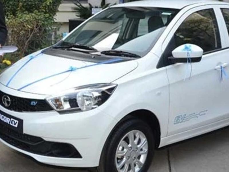 Tata Tigor Ev अब सभी ग्राहकों के लिए हुए लॉन्च, एक बार चार्ज करने पर दौड़ेगी 213 km
