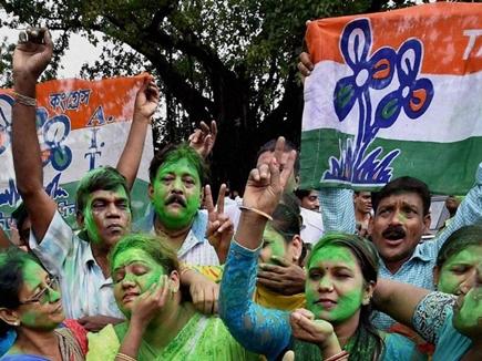 प. बंगाल पंचायत चुनाव में TMC की बंपर जीत, दूसरे नंबर पर रही भाजपा