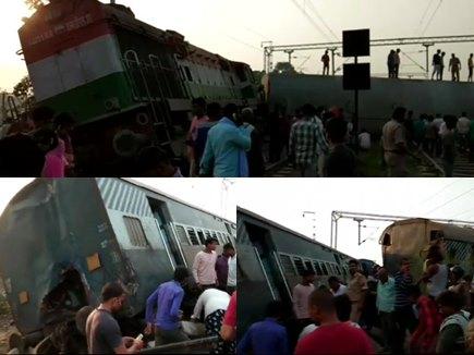 रायबरेली रेल हादसा : स्टेशन मास्टर सस्पेंड, कई ट्रेनों का बदला गया रूट