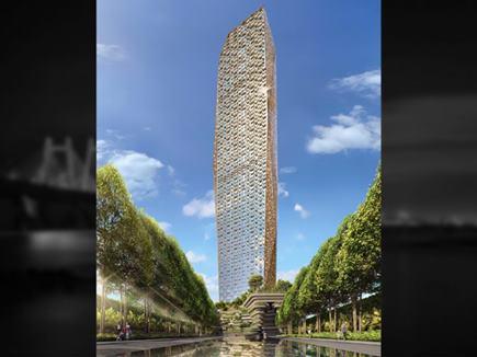 78 मंजिल के ट्रंप टावर मुंबई का ट्रंप जूनियर ने किया उद्घाटन