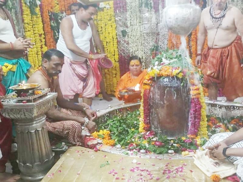 उमा भारती का महाकाल मंदिर में विवाद, इस वजह से बनी स्थिति