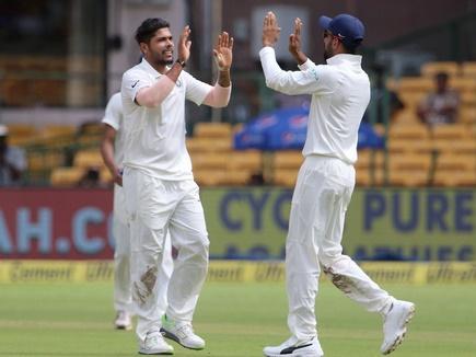 भारत ने दूसरे ही दिन बेंगलुरु टेस्ट जीता, AFG को पारी और 262 रनों से हराया