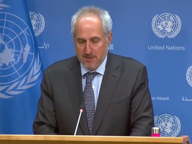 UN ने कश्मीर पर पाकिस्तान की मध्यस्थता की मांग ठुकराई, कहा - दोनों देश बातचीत से सुलझाएं मसला