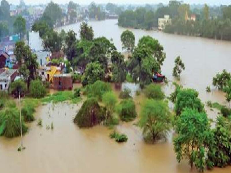 Madhya Pradesh Weather Alert : विदिशा में बाढ़ के हालात, भोपाल में 14 सेमी से ज्यादा बारिश