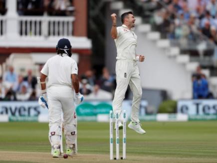 INDvsENG : एंडरसन ने भारत की पहली पारी को 107 पर समेटा