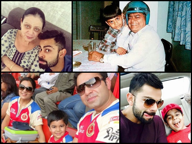 ये है विराट कोहली के भैया-भाभी, देखिए परिवार की अनदेखी तस्वीरें