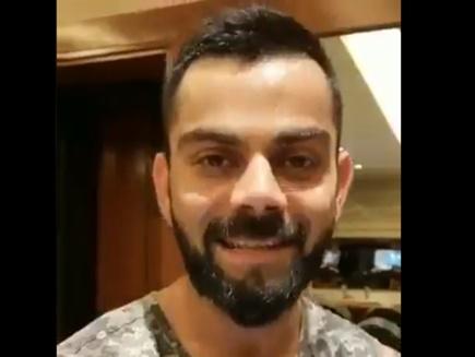 VIDEO: विराट कोहली ने जिम मे बहाया पसीना