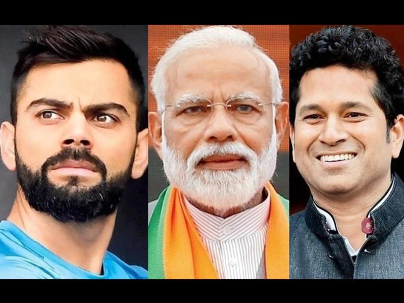 Election Results 2019 : विराट और सचिन ने नरेंद्र मोदी को दी बधाई