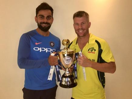 भारत-ऑस्ट्रेलिया तीसरा टी20 मैच रद्द, सीरीज बराबर