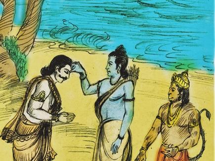 यहां है रावण के भाई विभीषण का मंदिर