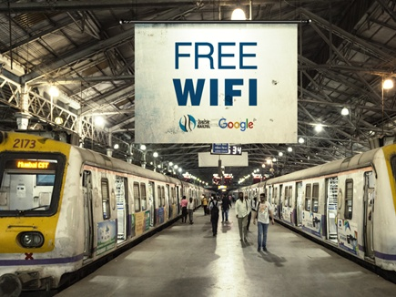 Free WiFi in 400 Railway Stations soon