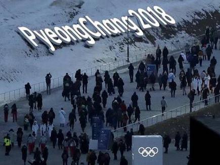 Winter Olympics 2018 : बर्फीली हवाओं ने रोका एथलीटों का रास्ता