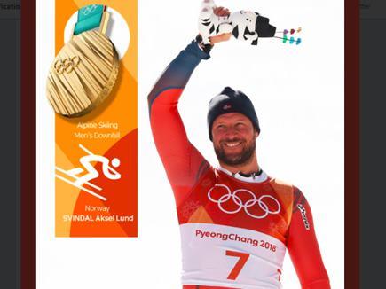 Winter Olympic 2018 : अकसेल बने सबसे उम्रदराज स्कीइंग चैंपियन