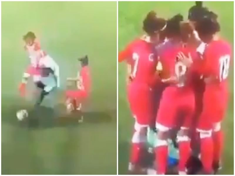 Woman Football: फुटबॉल खेल रही महिला का हिजाब खुला, फिर हुआ ऐसा, देखें दिलचस्प Video