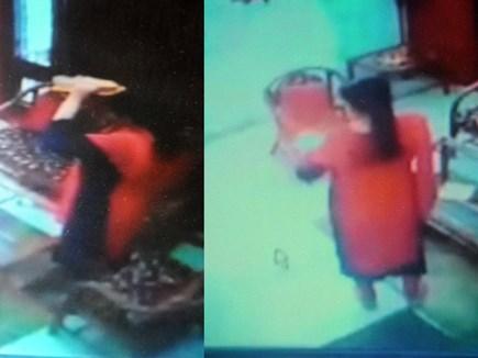 VIDEO : पंप संचालक के घर में खुद पर पेट्रोल डाल लगा ली आग