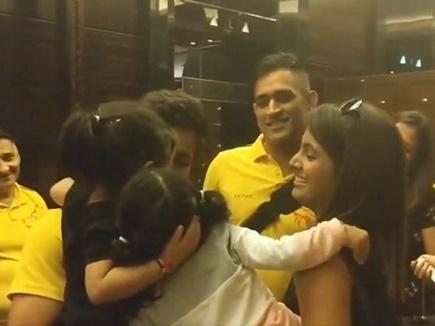 VIDEO: जीवा ने इस अंदाज में किया हरभजन की बेटी को बाय
